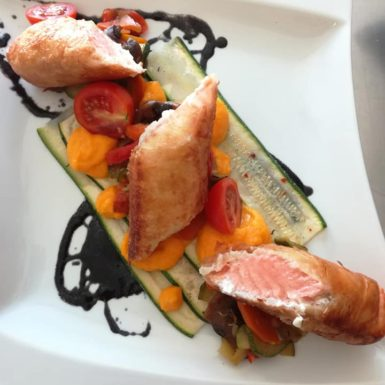 Croustillant saumon